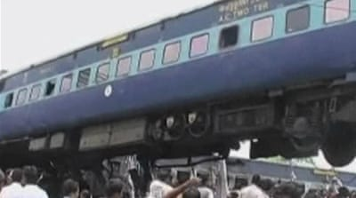 Indian train derailment leaves dozens dead