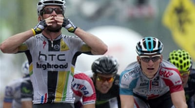 Cavendish turns tables on Greipel
