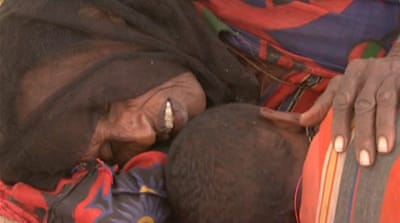 Somalis flee to Kenya in search of food