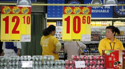 China inflation falls to 14-month low at 4.2%