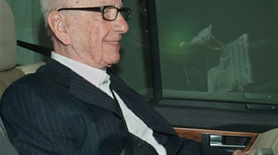 Murdoch to answer phone-hacking questions