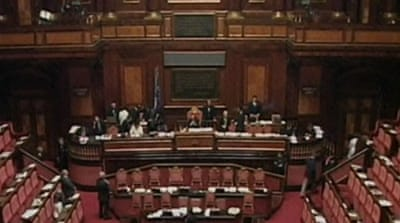 Italian senate approves austerity package