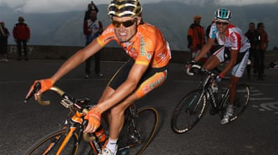 Maiden win for Sanchez as Contador falters