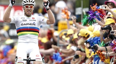 Thor Hushovd wins 13th stage of Tour