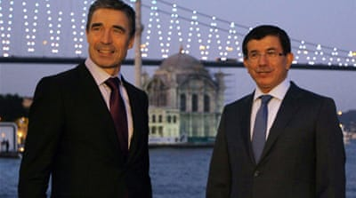NATO leaders discuss Libya in Istanbul