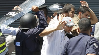 Jordan police held over attack on journalists