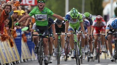 Cavendish secures another Tour win