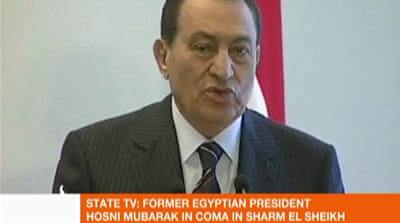 Conflicting reports about Mubarak's health