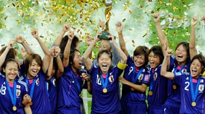 Japan's women stun USA in World Cup final