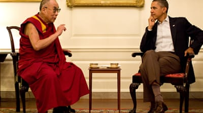 China angry over Obama-Dalai Lama meeting