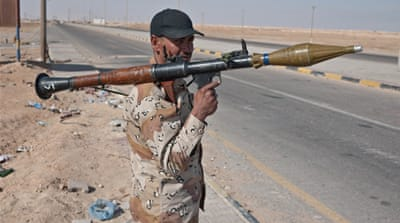 Libyan rebels and their Arab Spring armament