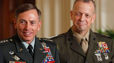 Allen steps up to Afghan war command
