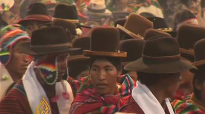 Bolivia revives indigenous weddings