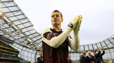 Aston Villa sign Shay Given