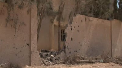 Libyan rebels face mines threat