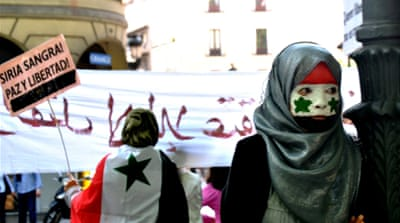 Living in Spain and fighting for Syria