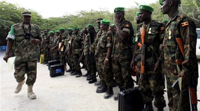 Troops roll back fighters in Somali capital