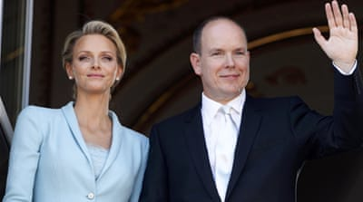 Relief in Monaco as prince weds