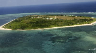 China and Philippines in island spat