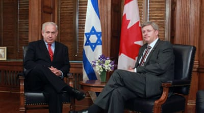 Canada clamps down on criticism of Israel
