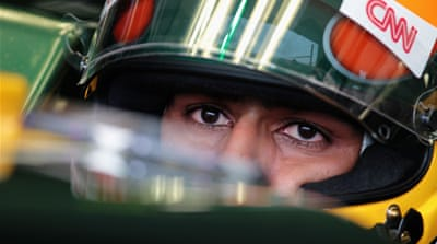 Team Lotus drop Trulli for Chandhok