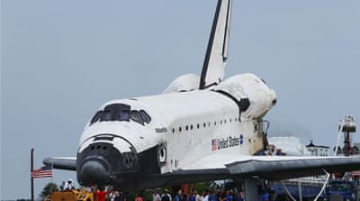 End of the space shuttle era