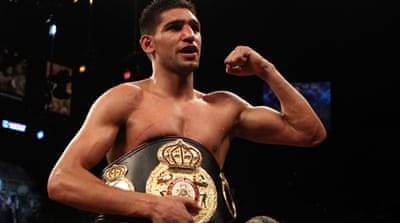 Amir Khan: Britain's Muslim king of the ring