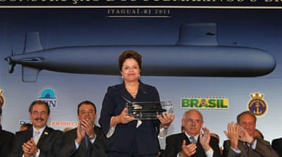 Brazil's new nuclear subs to defend oil wells