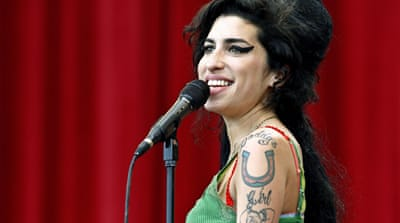 UK singer Amy Winehouse found dead