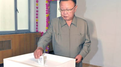 North Koreans vote in local elections