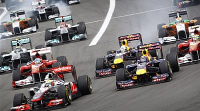Hamilton wins German Grand Prix