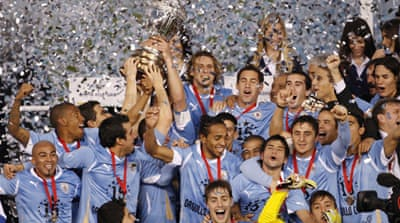 Uruguay beat Paraguay for Copa America title