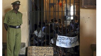 Sri Lankan jails 'hell' for women