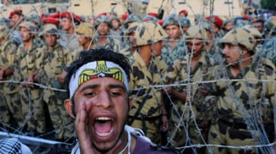 The role of the army in Egypt's new politics