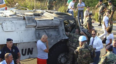 French UN troops wounded in Lebanon blast