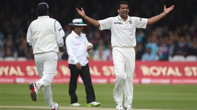 Zaheer Khan ruled out of Test