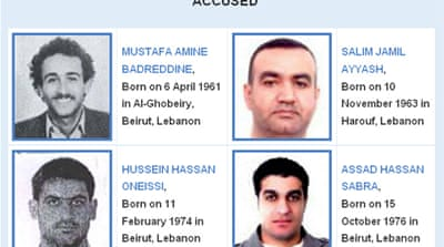 UN tribunal names suspects in Hariri killing