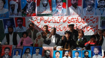 'Enforced disappearances' in Pakistan slammed