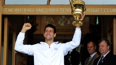 In Pictures: Wimbledon highlights