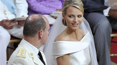 Royal nuptials lift Monaco's hopes