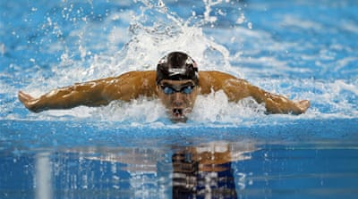 Another gold for Phelps in Shanghai