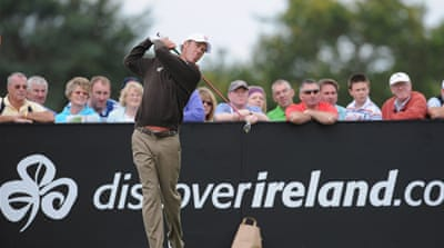 Green on top at Irish Open