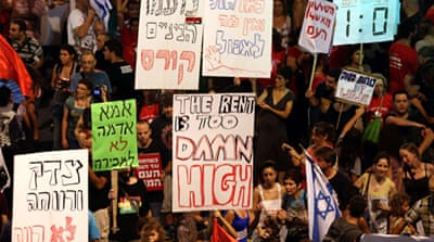 Thousands rally in Israel over rising prices