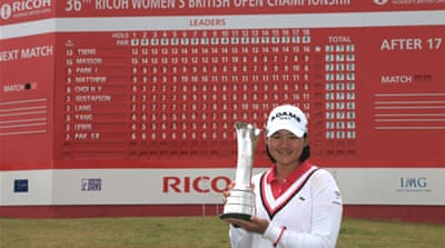 Yani Tseng wins women's British Open