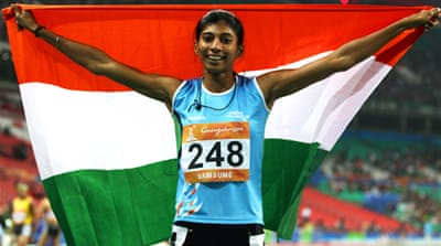Indian athletes banned for doping