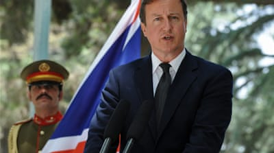 Cameron: Future role possible for Taliban