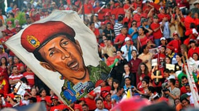 Venezuela's Chavez vows to win health battle