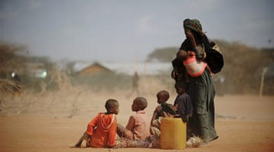 UN 'disturbed' over Somali hunger crisis