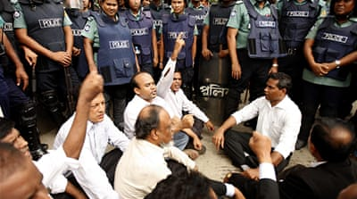 Opposition strike in Bangladesh turns violent
