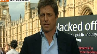 Hugh Grant on being 'hacked'